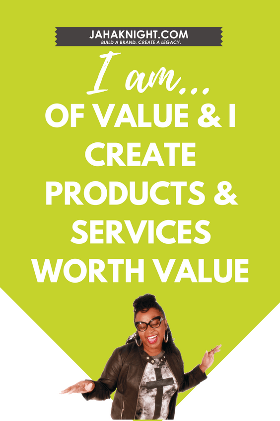 I Am of Value